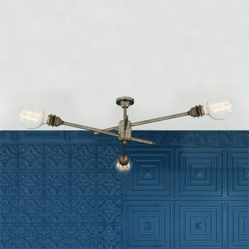 traditional chandelier / brass / LED / commercial