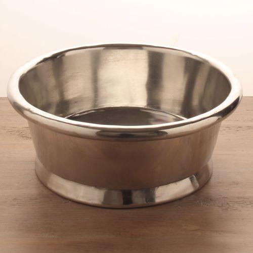 countertop washbasin / round / copper / traditional