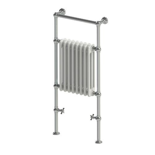 vertical heated towel rack
