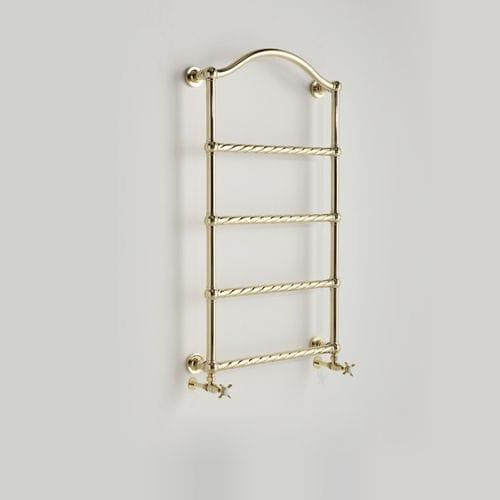 hot water towel radiator / metal / traditional / wall-mounted