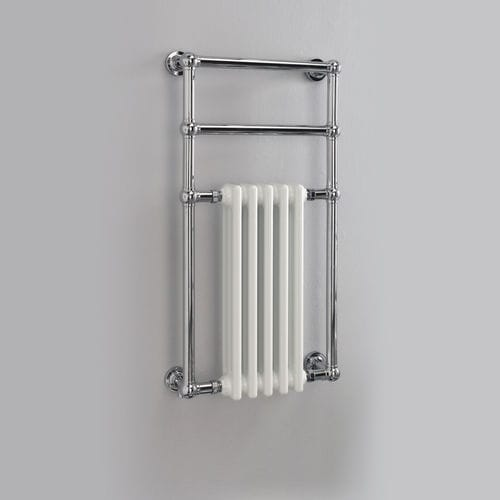 hot water towel radiator / cast iron / contemporary / wall-mounted