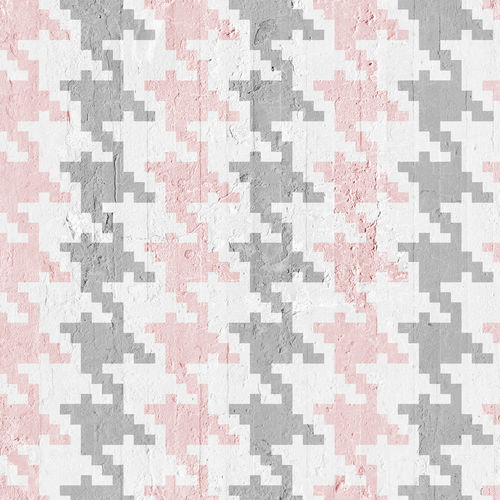 contemporary wallpaper / nonwoven fabric / patterned / fabric look