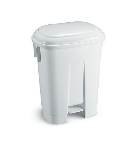 hygienic trash can / plastic / foot-operated / contemporary