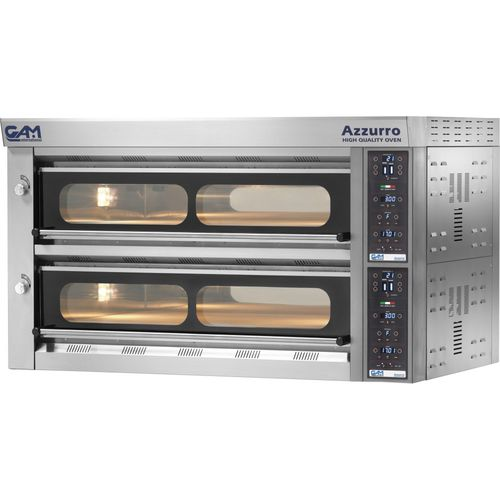 commercial oven / electric / pizza / deck