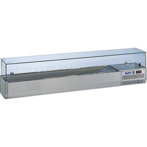 countertop refrigerated display case / for shops / for restaurants