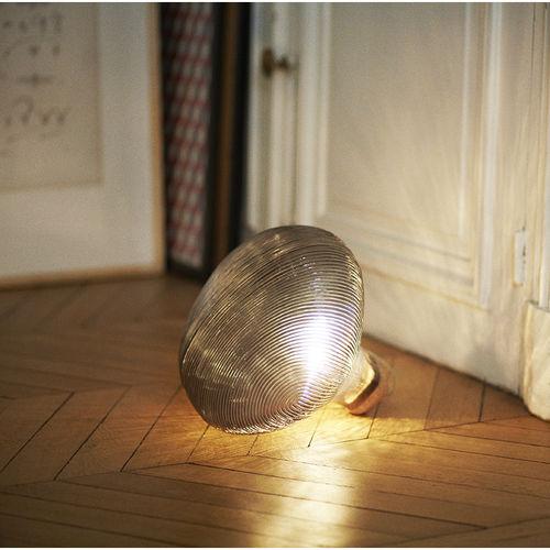 portable lamp / contemporary / blown glass / halogen