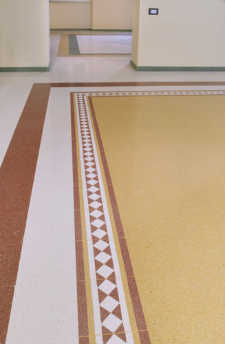 terrazzo border tile