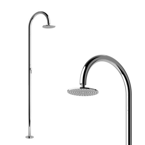stainless steel outdoor shower - Inoxstyle