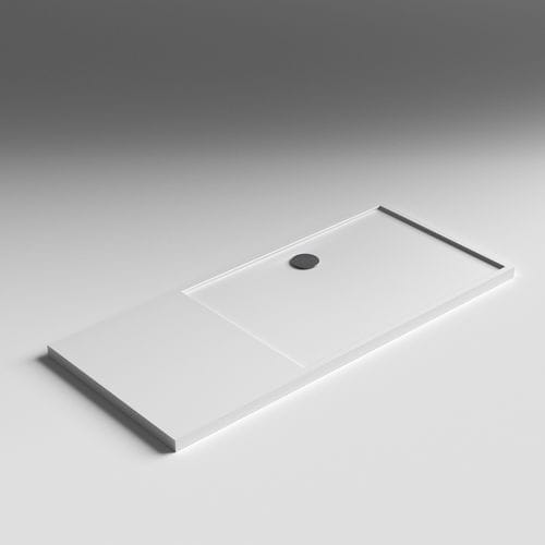 rectangular shower base / Solid Surface / extra-flat