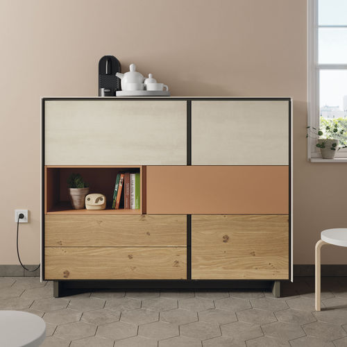 contemporary sideboard - VIVE - MUEBLES VERGE S.L.
