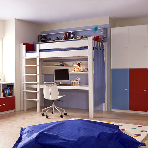 Loft Bed Debe Destyle Teenagers 01 De Breuyn Mobel Gmbh Single Contemporary Child S
