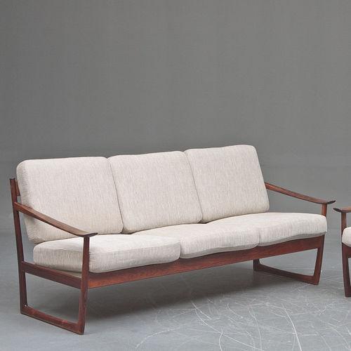 Fabulous Scandinavian Design Sofa Fabric Rosewood 3 Seater Onthecornerstone Fun Painted Chair Ideas Images Onthecornerstoneorg