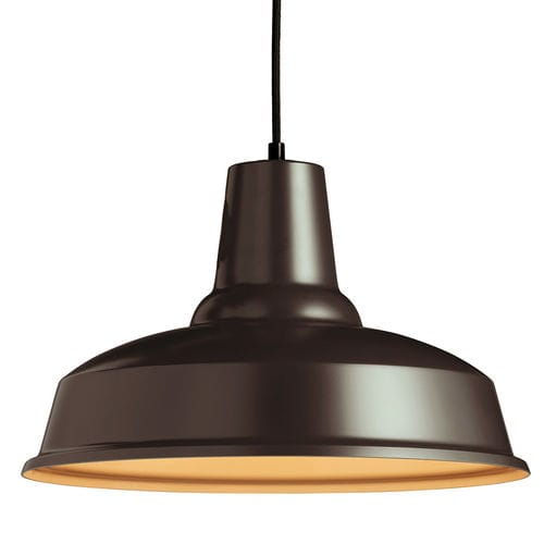 pendant lamp / industrial style / aluminum / dimmable