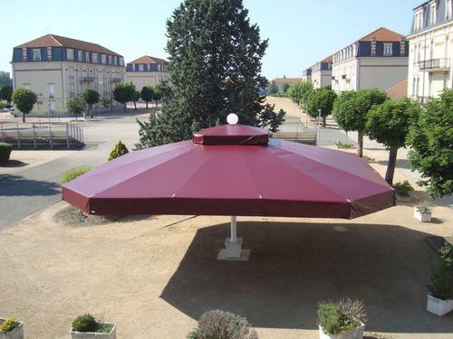 commercial patio umbrella / acrylic / polyester / aluminum