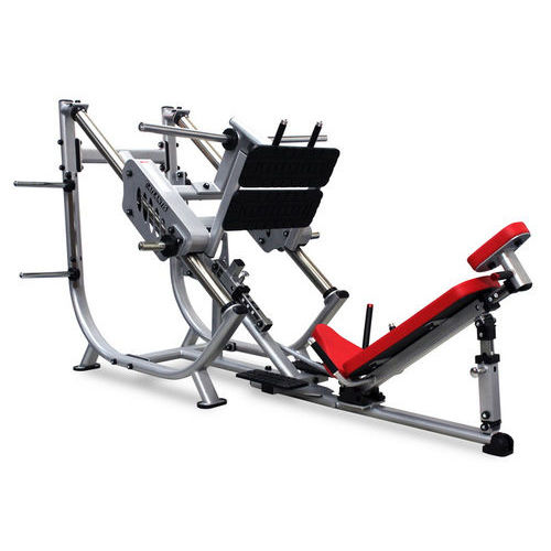 leg press weight training machine