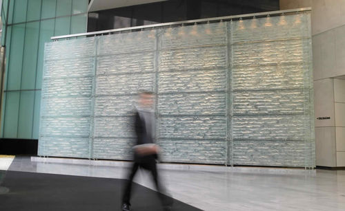 glass decorative panel