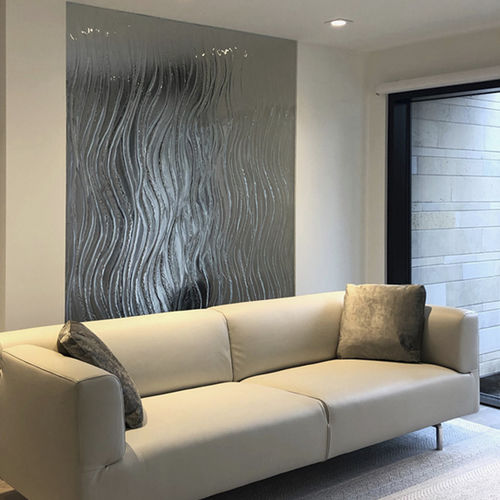 removable partition / fixed / sliding / glass