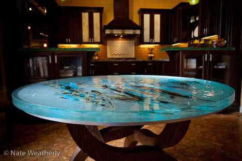 original design dining table - ThinkGlass