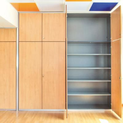 tall filing cabinet / wall-mounted / wooden / modular