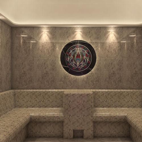 Turkish steam room
