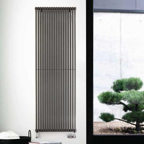 hot water radiator / metal / contemporary / transparent