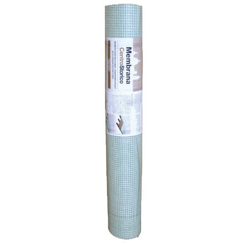 protection waterproofing membrane / for flooring / roll / with vapor barrier
