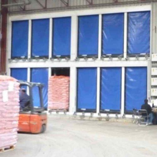 roll-up industrial door