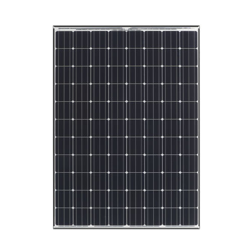 amorphous silicon PV panel / colored / for roofs / black