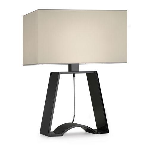 table lamp / contemporary / aluminum / painted metal