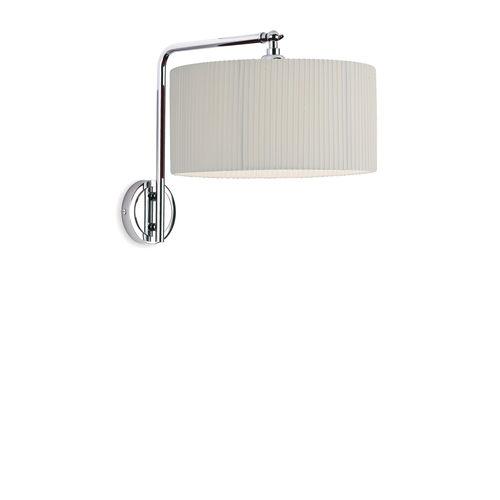 contemporary wall light / brass / nickel / chrome