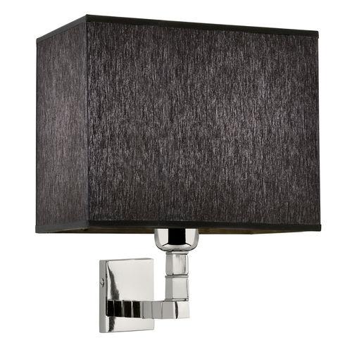 contemporary wall light / brass / chromed metal / nickel