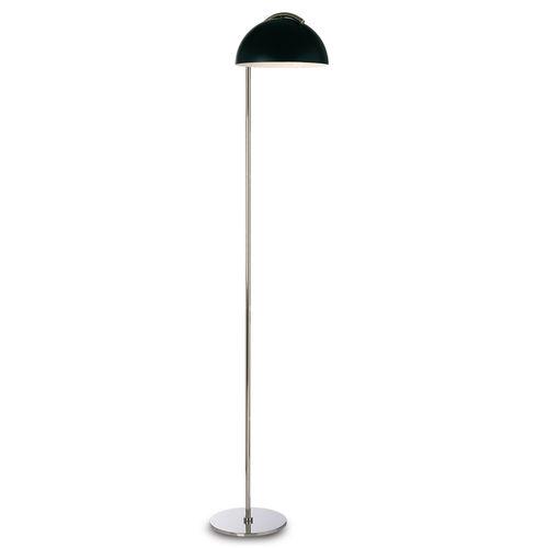 floor-standing lamp / contemporary / brass / painted metal