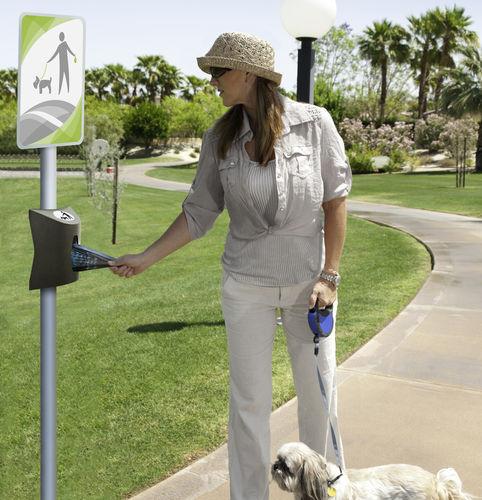 public space dog waste bag dispenser - CERVIC ENVIRONMENT