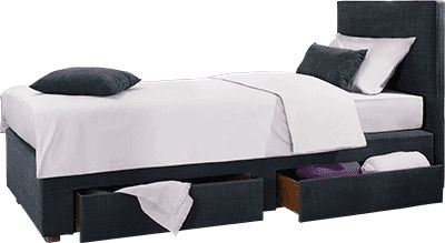 Single bed - KANGAROO - le lit national - contemporary / with