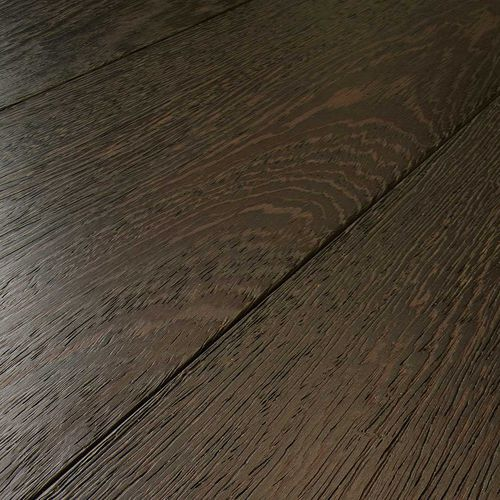 engineered parquet floor / glued / natural oil finish