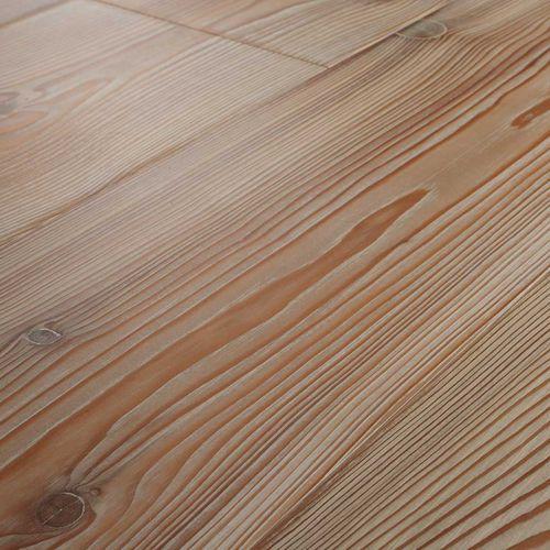 engineered parquet floor / glued / larch / natural oil finish