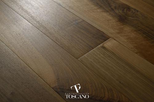 engineered parquet floor / glued / walnut / oiled