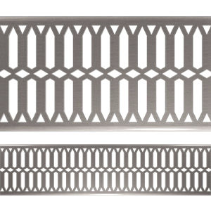 stainless steel drainage channel / flat / with grating / for swimming pools