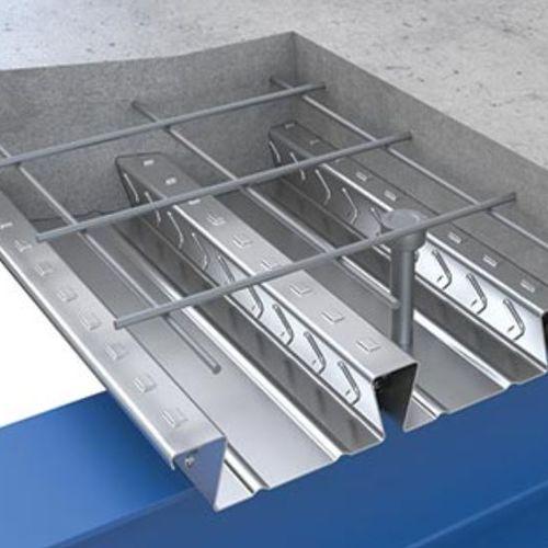 composite structural floor / steel