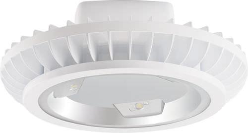 hanging light fixture / LED / round / cast aluminum
