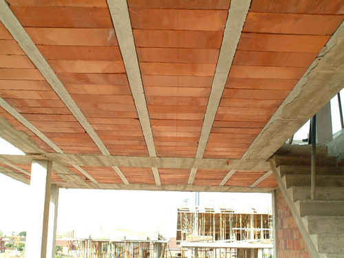 structural floor with girder-slabs