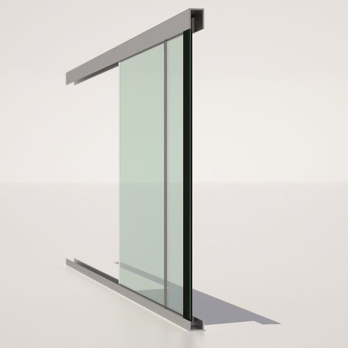 float glass panel / building / flat / colored