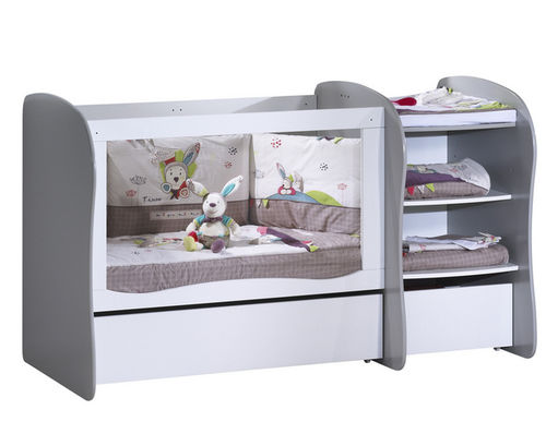 extendable bed / single / contemporary / child's unisex
