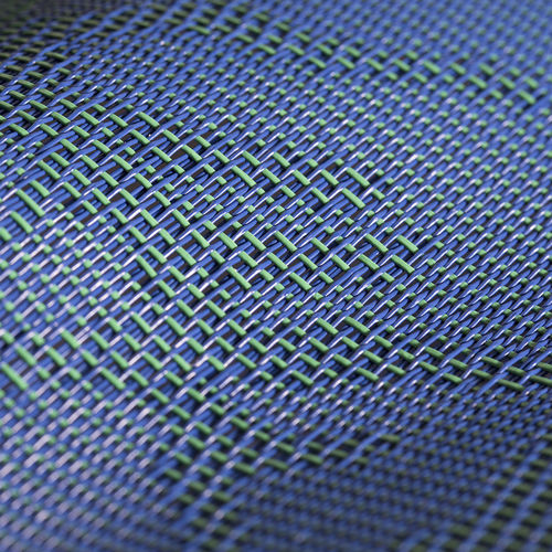 solar protection fabric / patterned / Textilene® / for outdoor use