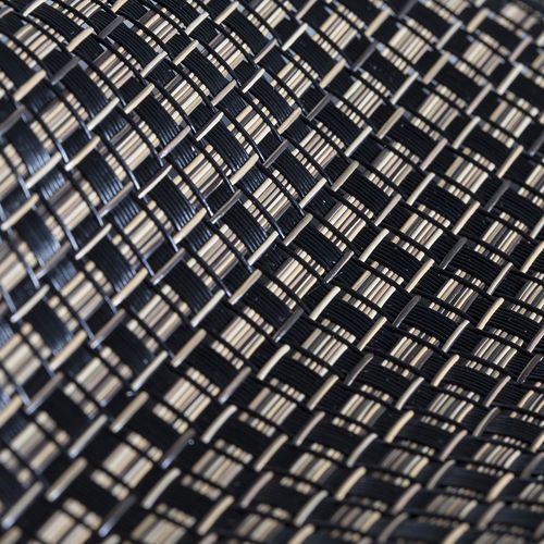 solar protection fabric / geometric pattern / Textilene® / for outdoor use