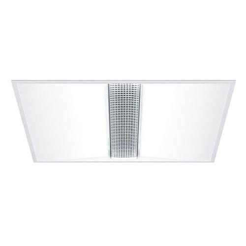 recessed ceiling light fixture / LED / square / rectangular