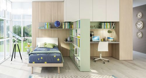melamine children's bedroom furniture set / unisex