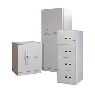 mechanical safe / free-standing / fire-rated