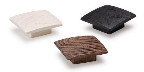 contemporary furniture knob / wooden
