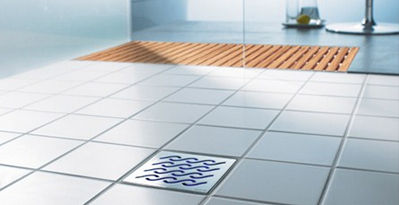stainless steel floor drain / round